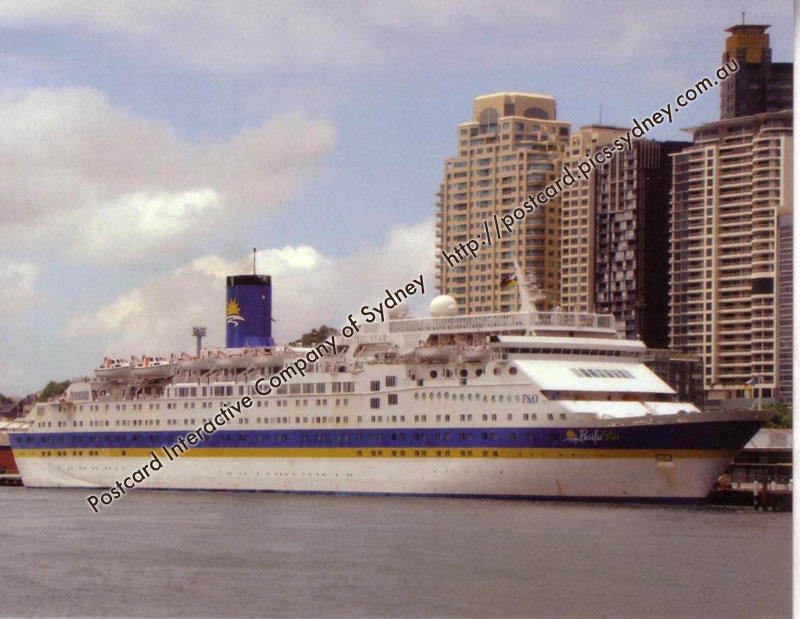 Pacific Star (P&O Cruises) - Click Image to Close
