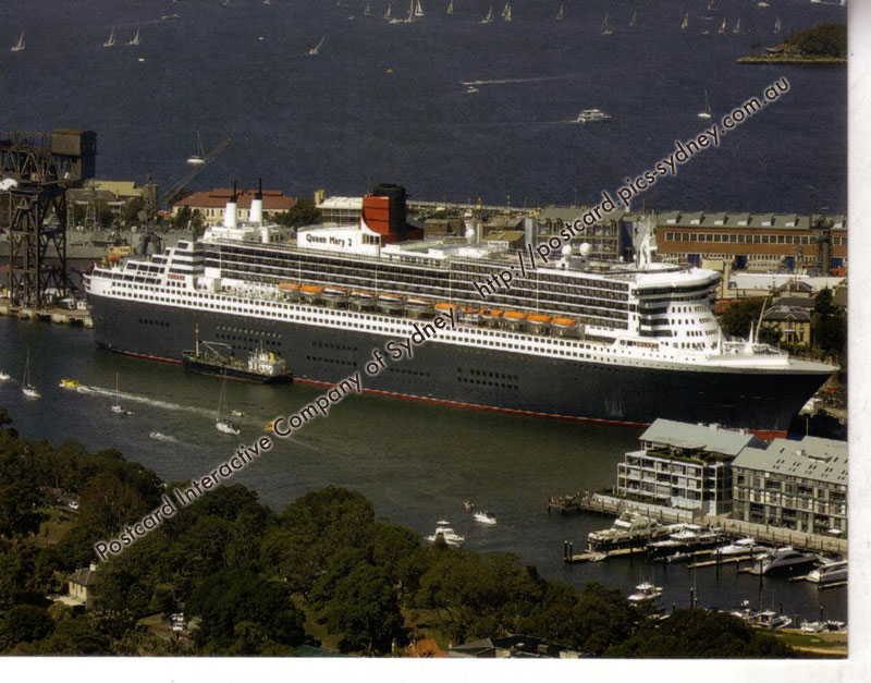Queen Mary II (at Garden Island) (Cunard Line)