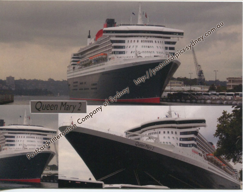 Queen Mary 2 (3 views) (Cunard Line) - Click Image to Close