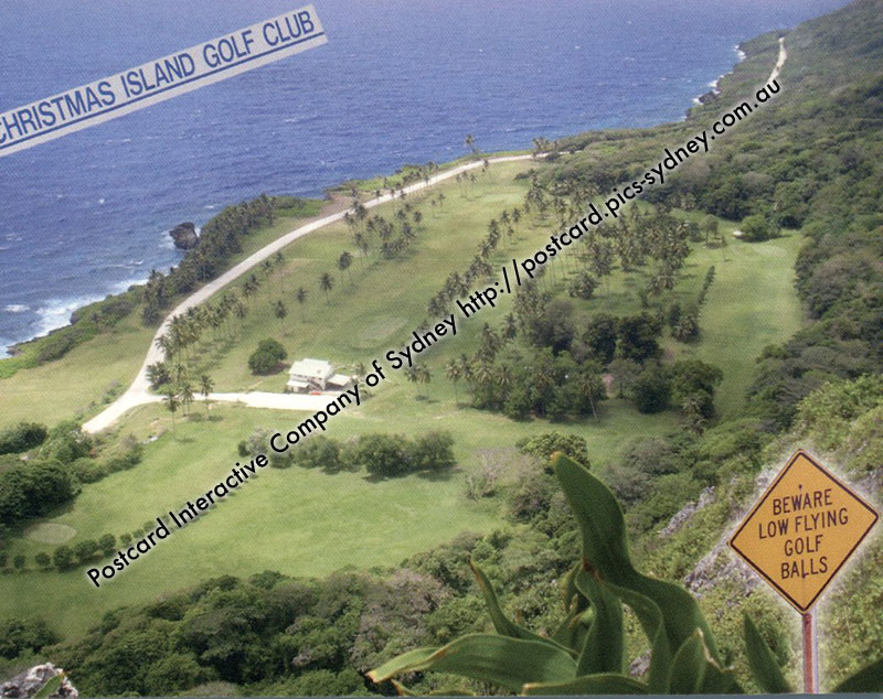 Christmas Island Golf Club - Course
