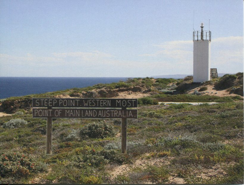 Western Australia Lighthouse - Steep Point