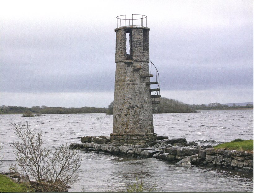 Ireland - Ballycurrum Jetty Lighthouse (Inland lake)