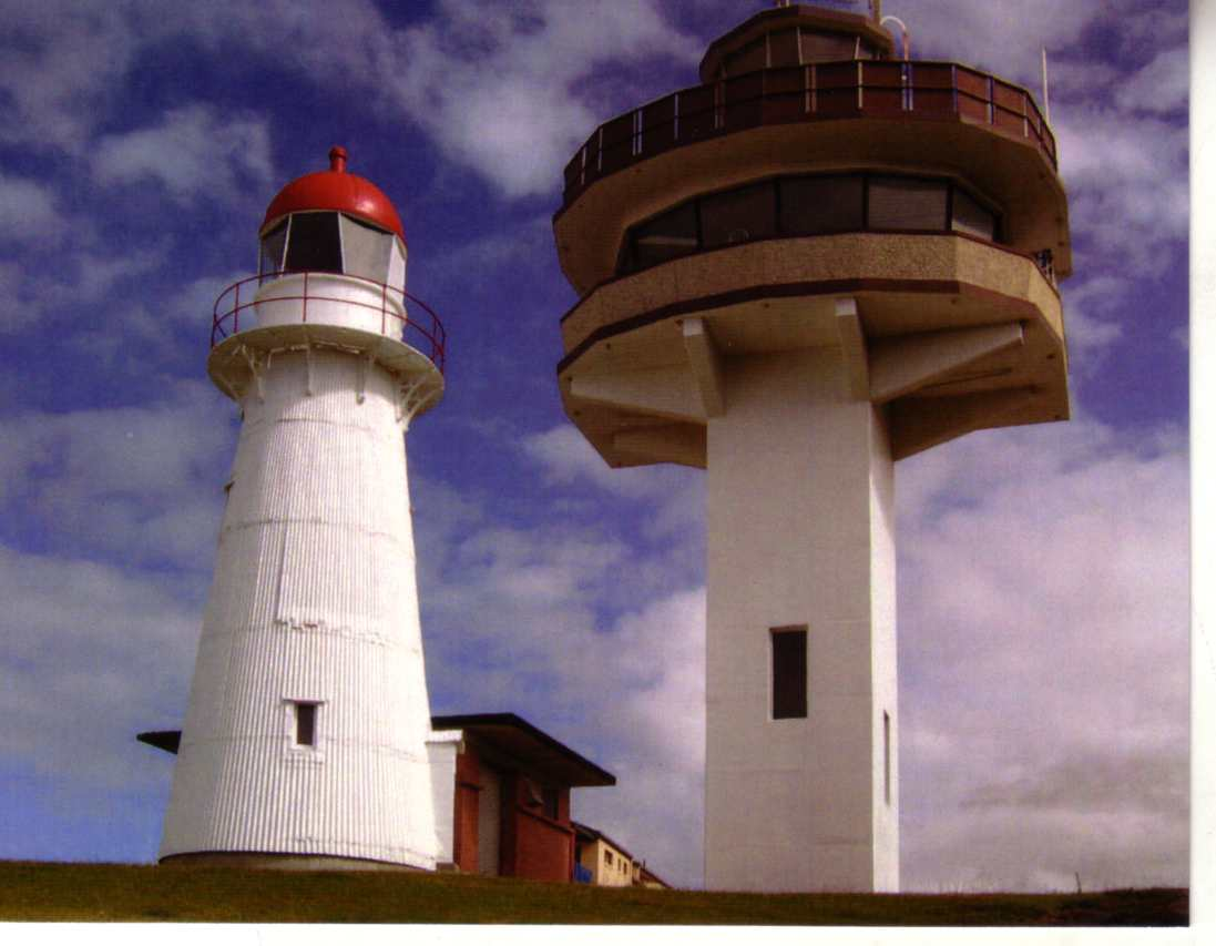 Queesnland Lighthouse - Caloundra (old & new)