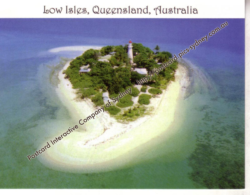 QLD UNESCO & Lighthouse - Low Isles