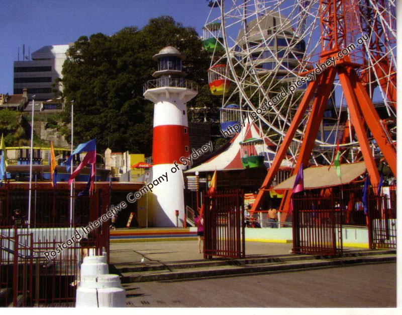 NSW Lighthouse - Luna Park (faux)