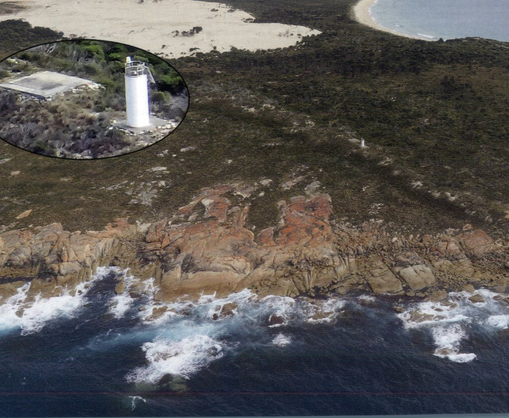 Tasmania Lighthouse - Cape Barren Island