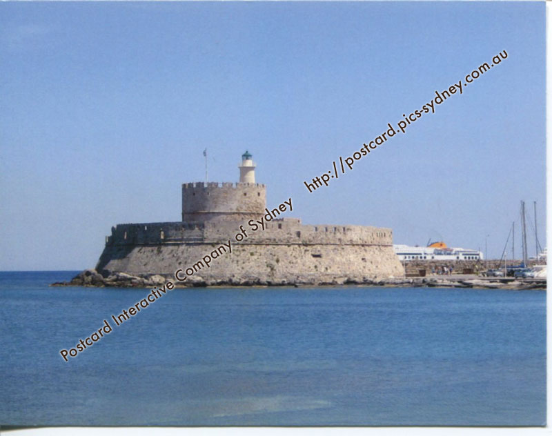 Greece - �gios Nik�laos Lighthouse (Rhodes)