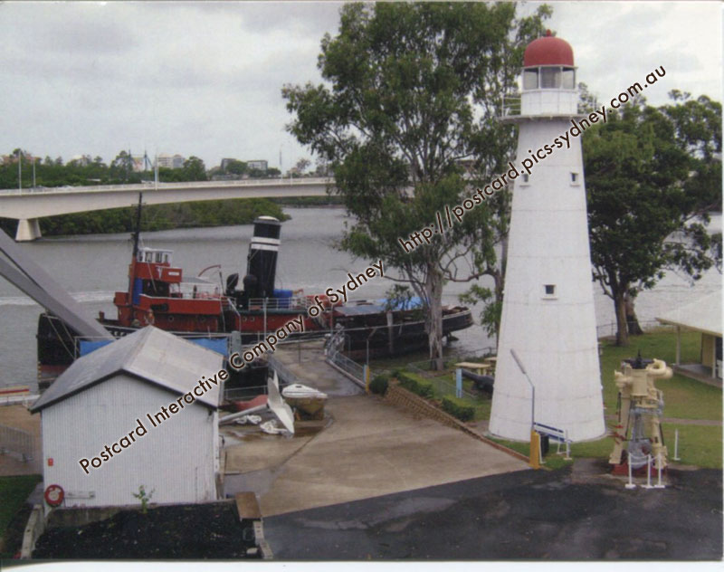 Queensland Lighthouse - Bulwer Island Range Rear