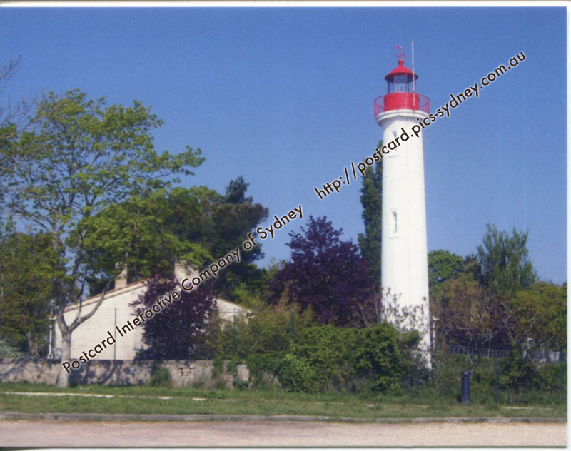 France - Chateau d'Ol�ron Lighthouse