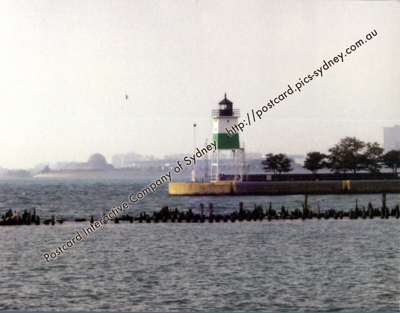 United States - Illinois - Chicago Harbour Lighthouse