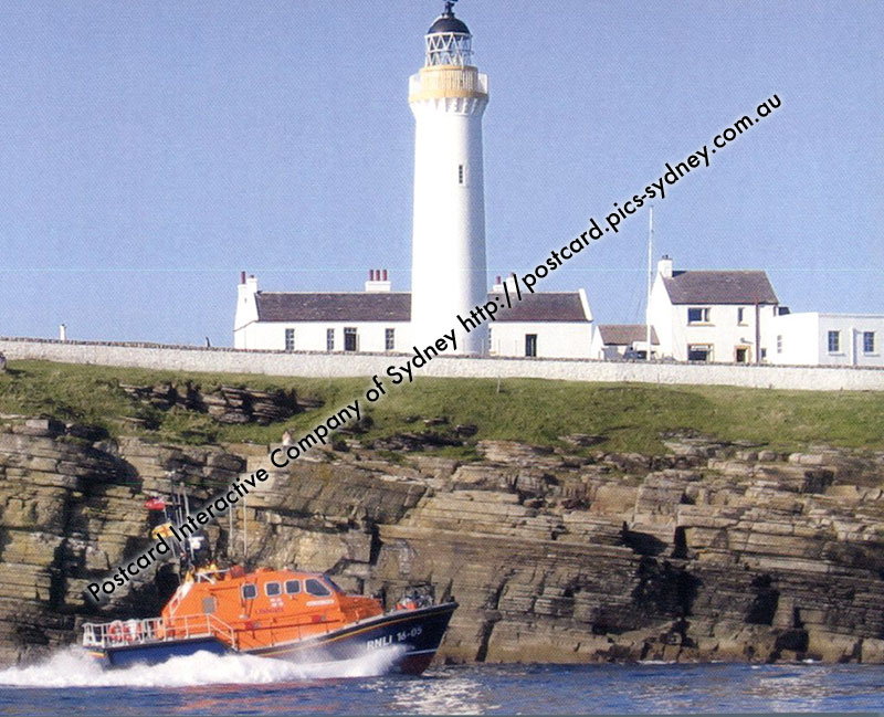 United Kingdom - Scotland - Cantick Head Lighthouse (Orkney Isl)