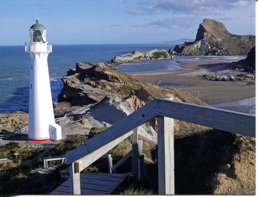 New Zealand - Castle Point Lighthouse - K 3994
