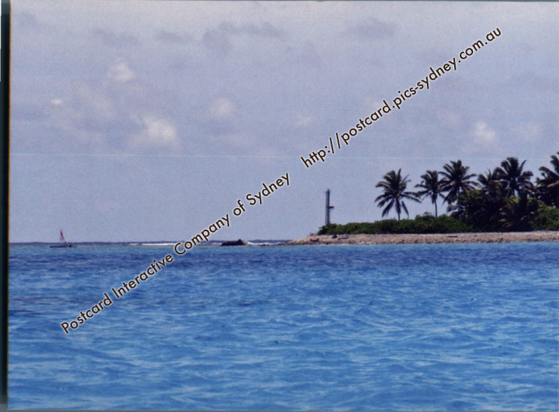 Cocos (Keeling) Islands - Direction Island Lighthouse