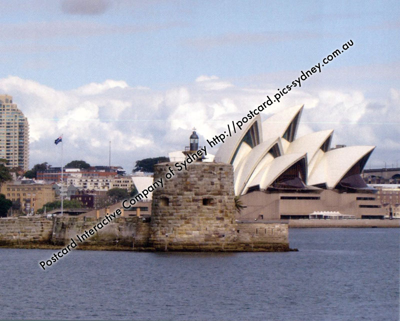 NSW Lighthouse - Fort Denison (Pinchgut) + Opera House