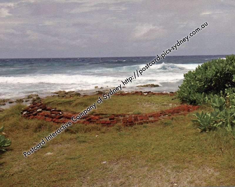 Cocos (Keeling) Islands - Remain of Home Island Watchtower