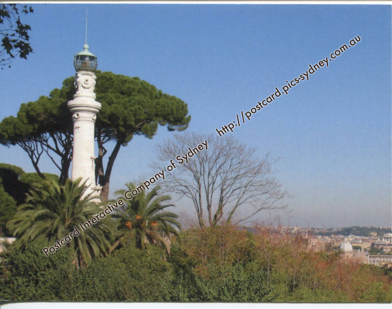 Italy - Janiculum Lighthouse (Rome)