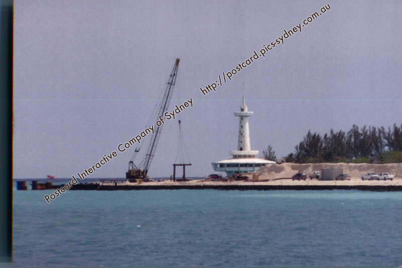 Bahamas - Long Cay Faux Lighthouse