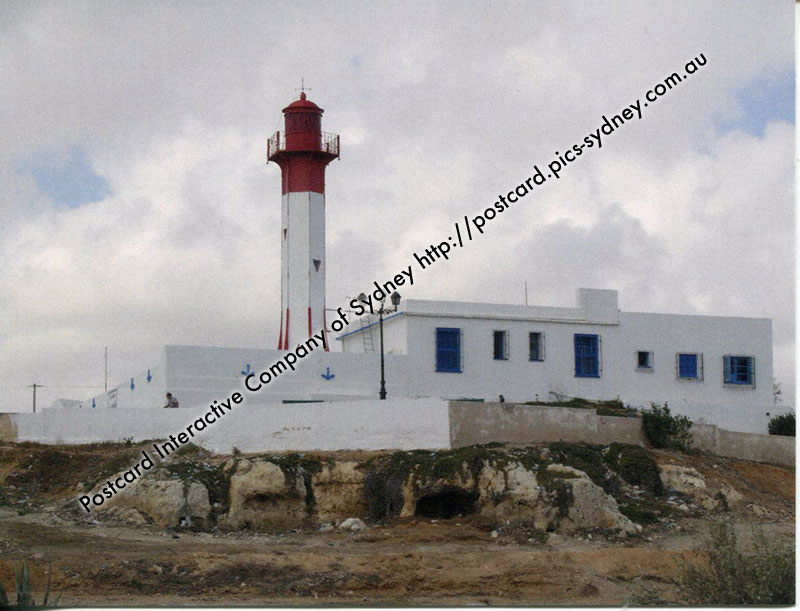 Tunisia - Mahdia (Cap Afrique) Lighthouse