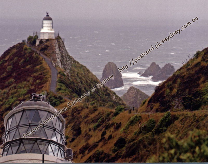 New Zealand - Nugget Point Lighthouse K4380