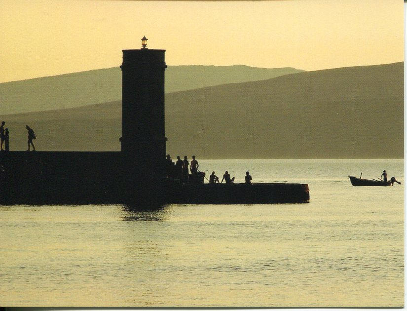 Croatia - Senj Marija Art Breakwater Lighthouse