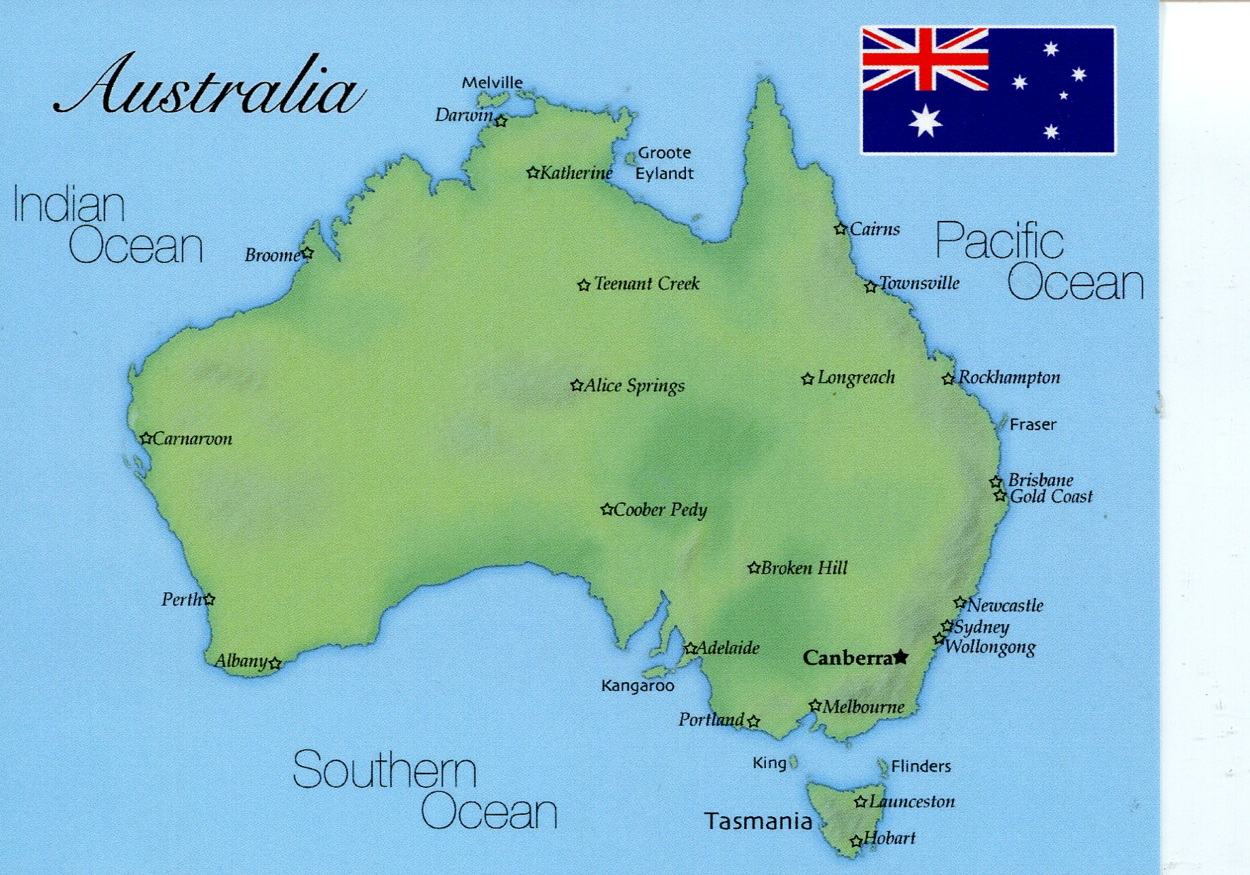 map of australia new design
