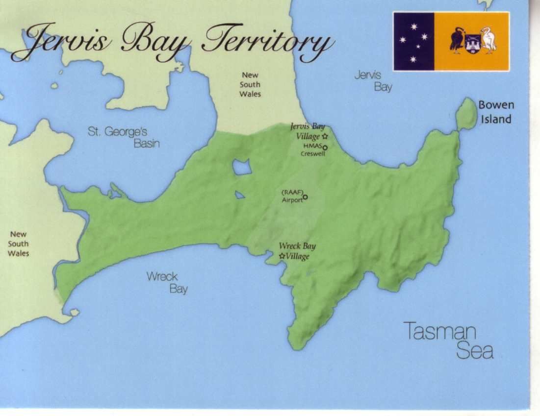 Australia Map Jervis Bay.Map Of Jervis Bay Territory Australian Capital Territory 1 00