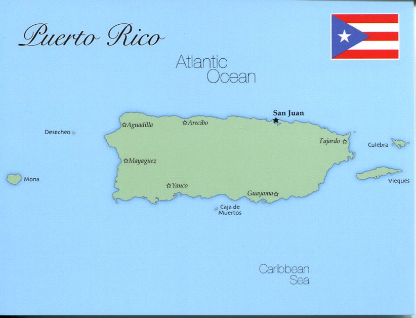 Map Of United States Pacific Territory Guam Samoa Etc MapG - Map us territories guam puerto rico