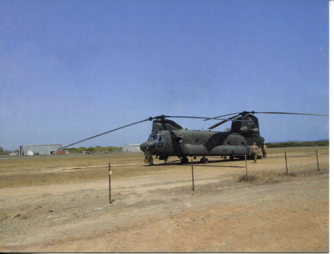 Boeing CH-47 Chinook Helicopter - Australian Army