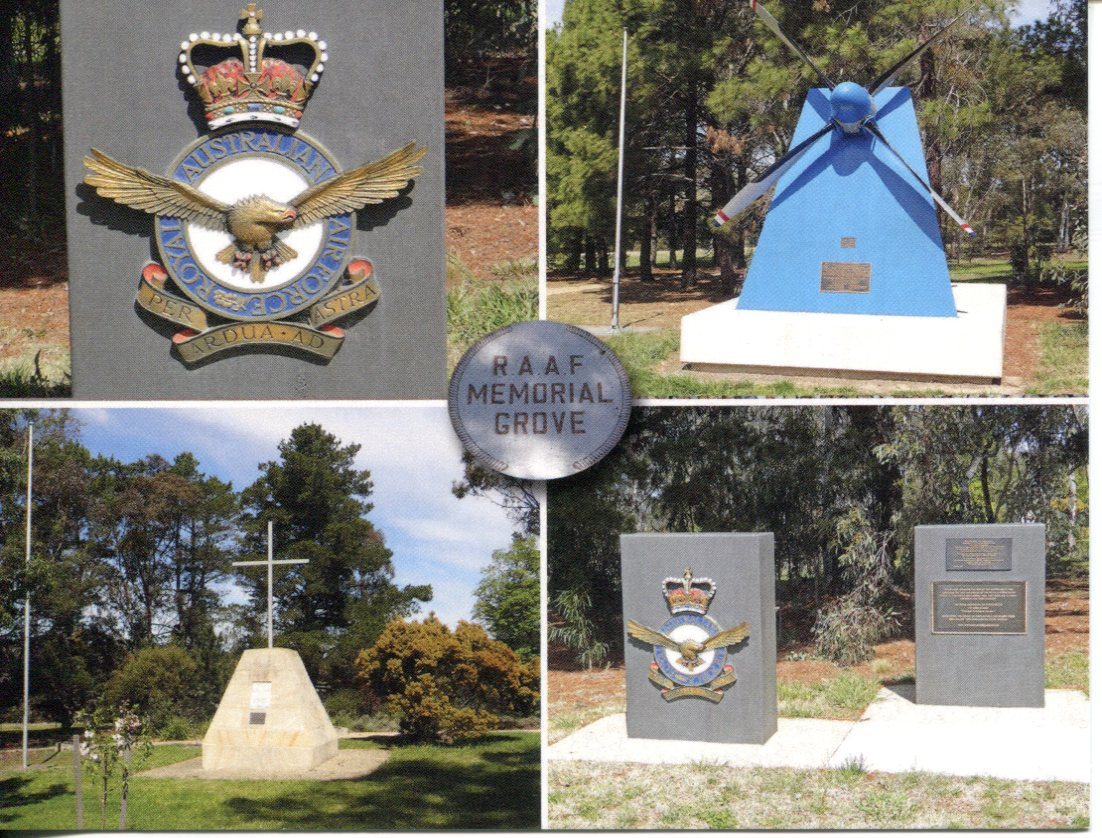 ACT - R.A.A.F Memorial Grove - Canberra