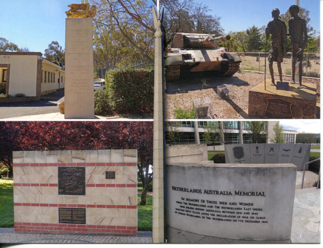 ACT - Canberra Foreign Memorials