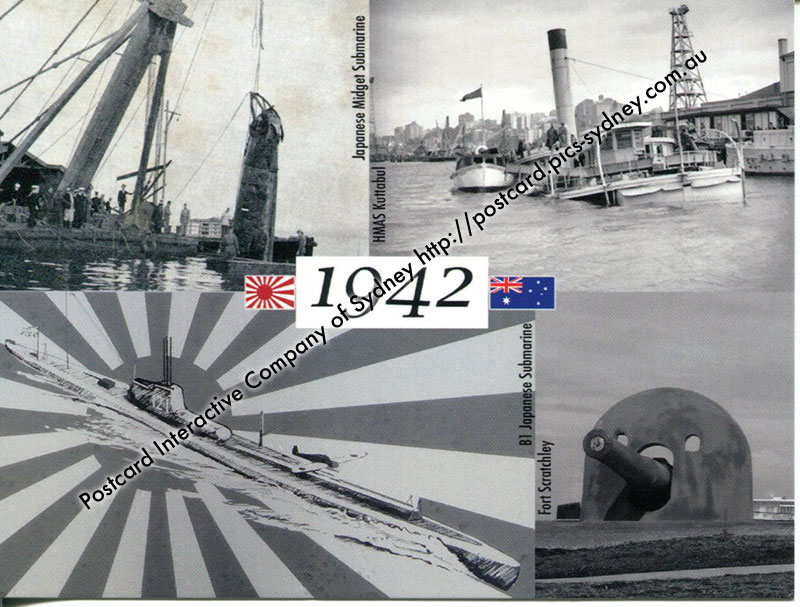Japanese Submarine attacks on Sydney & Newcastle (1942)