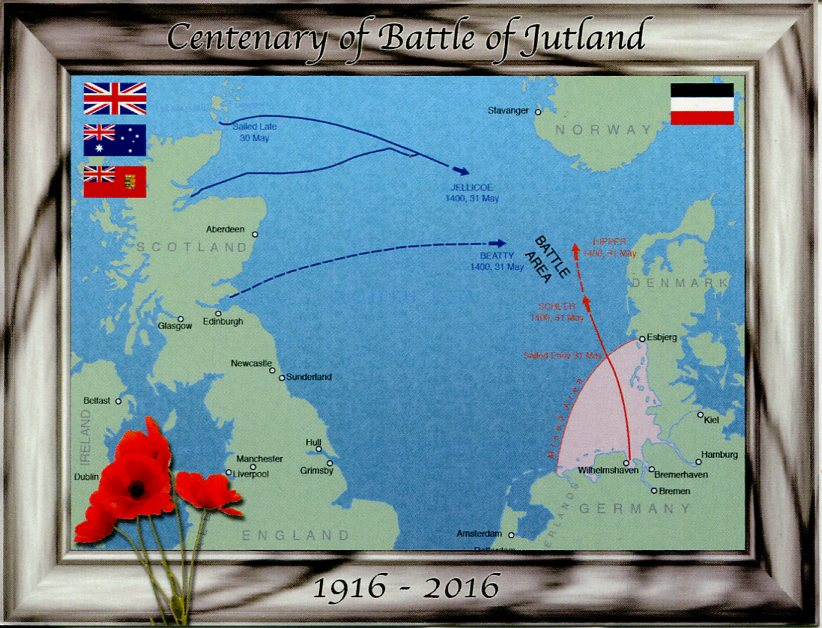 Centenary of Battle of Jutland