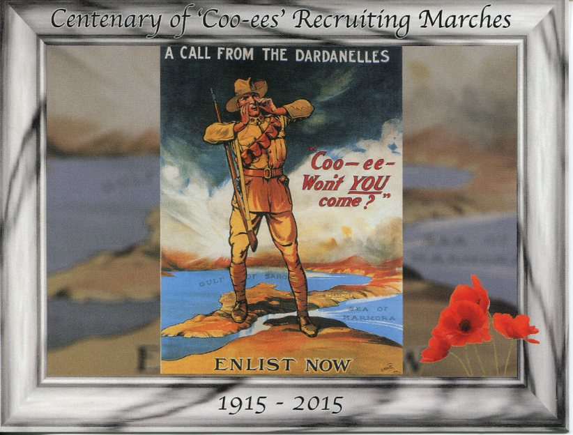 Centenary of Coo-ees Recruiting Marches (1915-16)