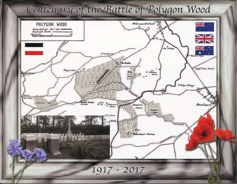Centenary of Poygon Wood Battle (Belgium)