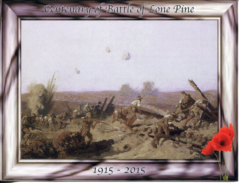 Centenary of Battle of Lone Pine, Gallipoli, Turkey