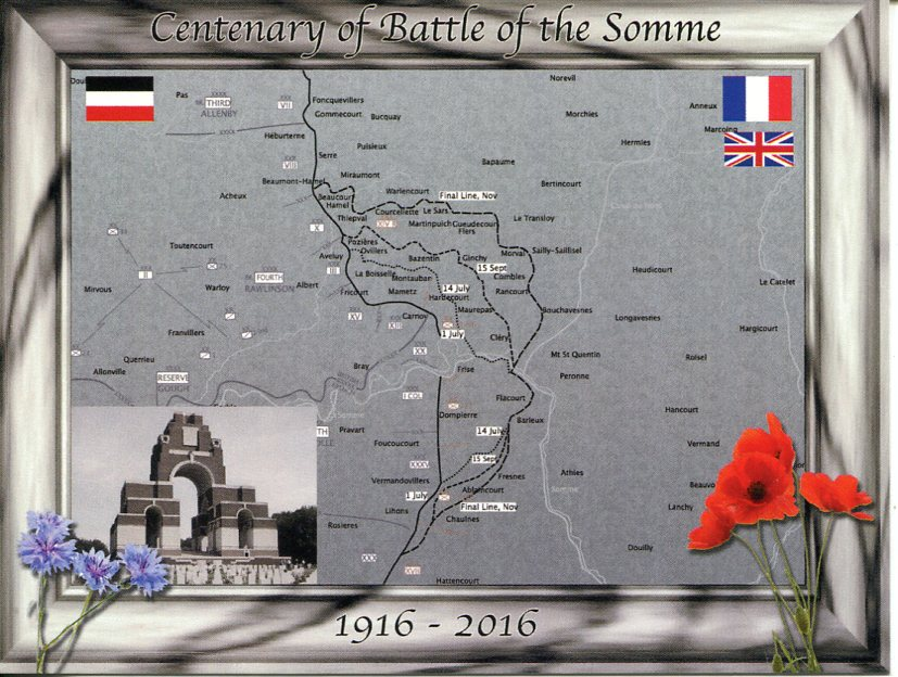 Centenary of Battle of the Somme