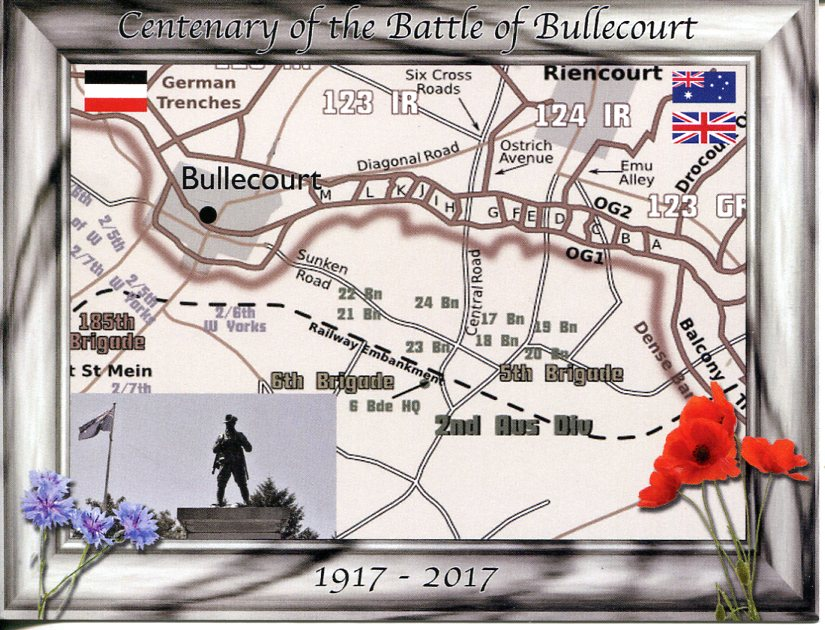 Centenary of Battles of Bullecourt