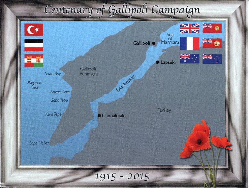 Centenary of Gallipoli Campaign (ANZAC Centenary)