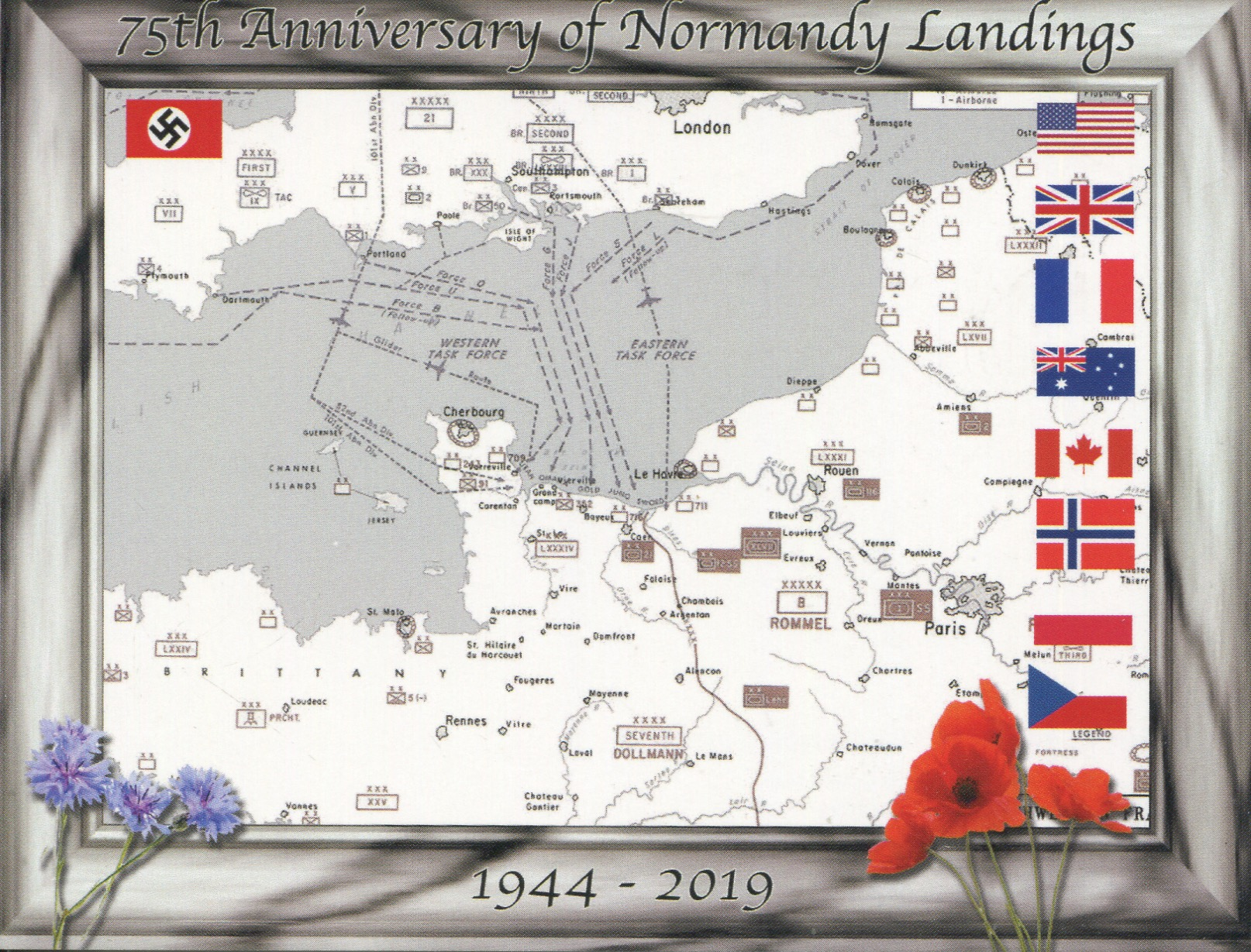 75th Anniversary of Normandy Landings (D-Day)
