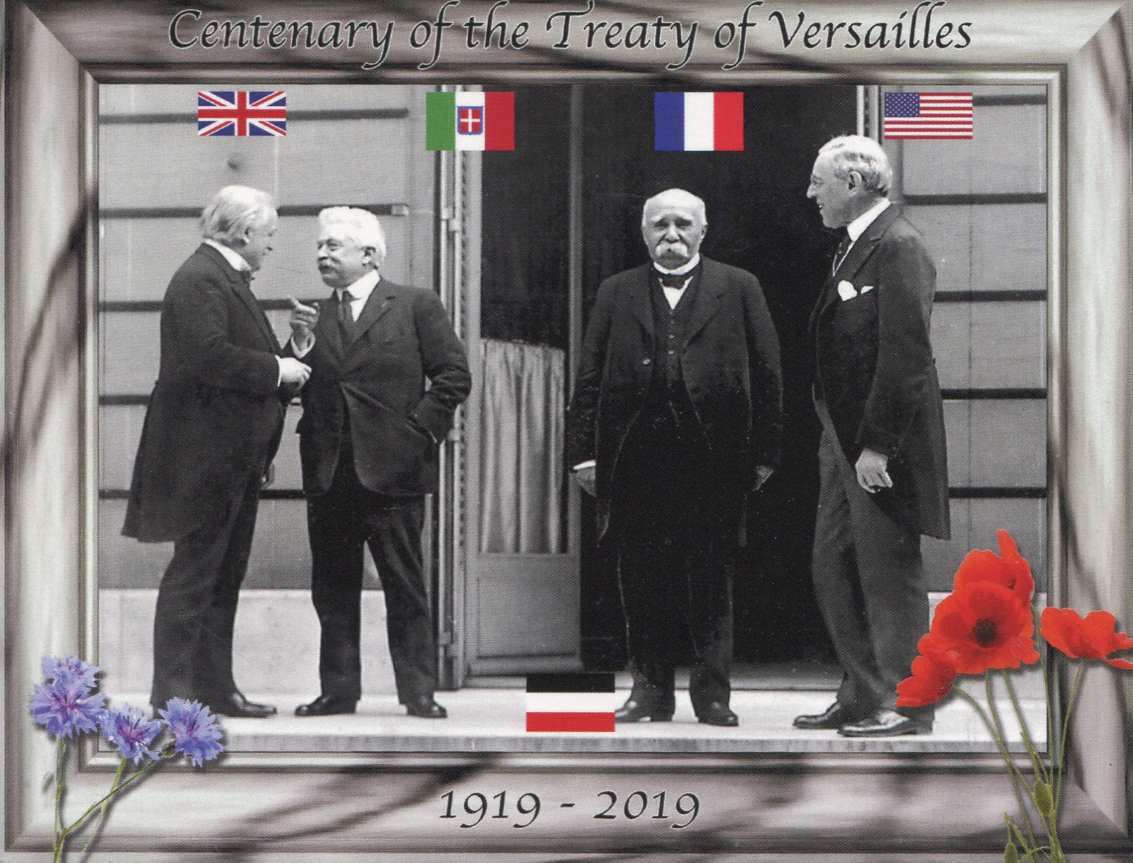 Centenary of the Treaty of Versailles (1) - WWI