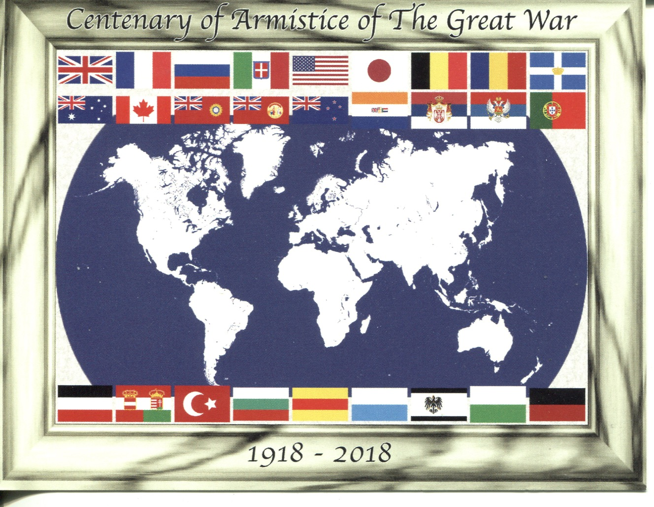 Centenary of Armistice of the Great War (WWI)