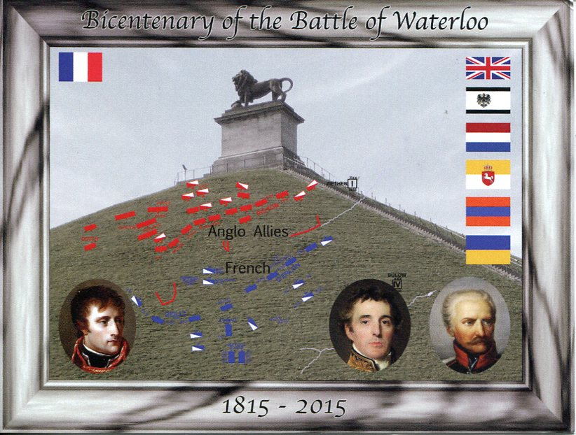 Bicentenary of Battle of Waterloo (1815-2015)