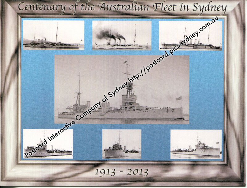 Centenary of the arrival of the Australian Fleet in Sydney (1)