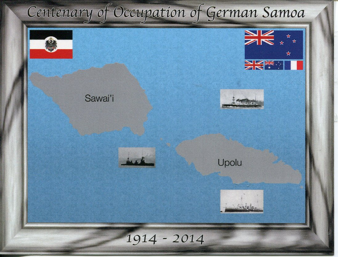 Centenary of the Occupation of German Samoa