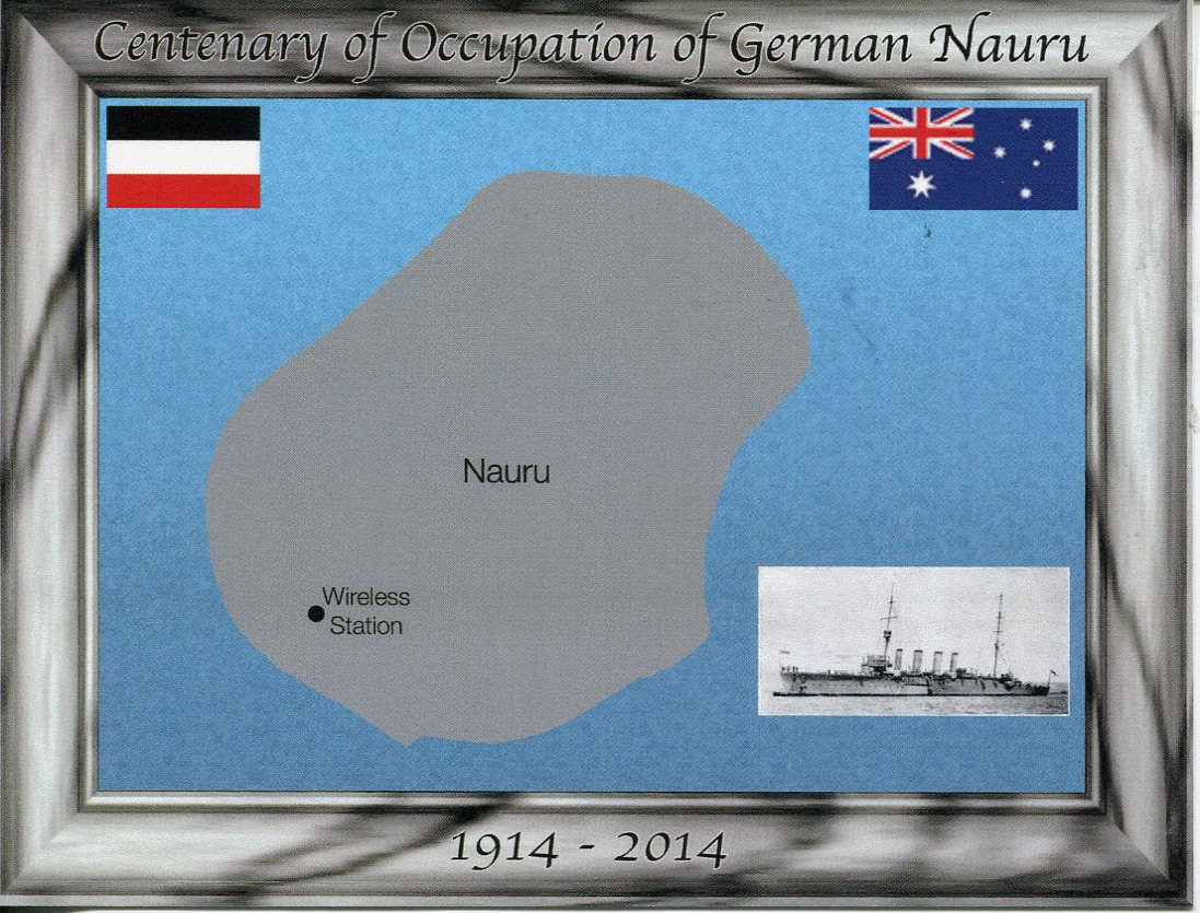 Centenary of Surrender of Nauru Island to HMAS Melbourne