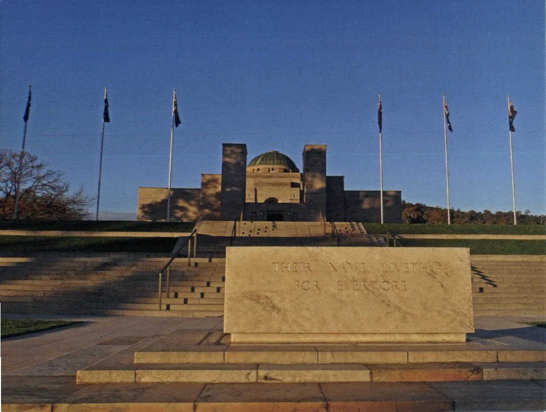 ACT - Australian War Memorial - Their Name Liveth for Evermore