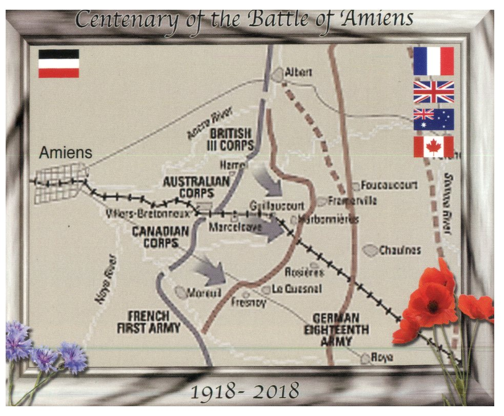 Centenary of the Battle of Amiens