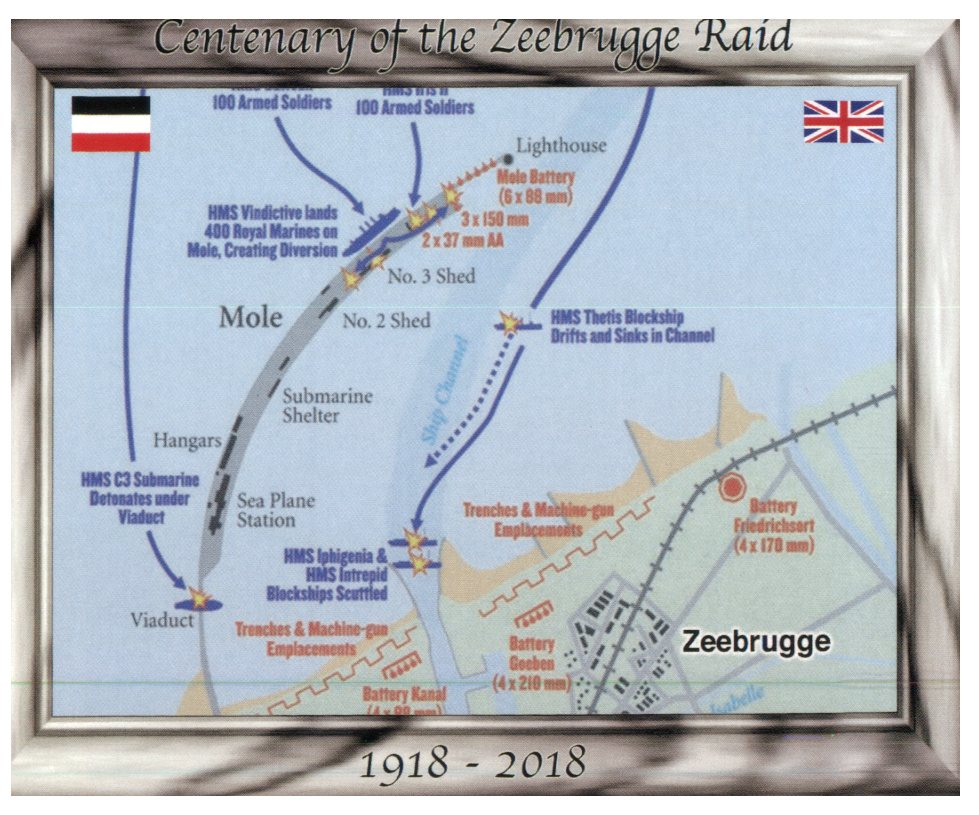 Centenary of the Zeebrugge Raid (WWI Navy)