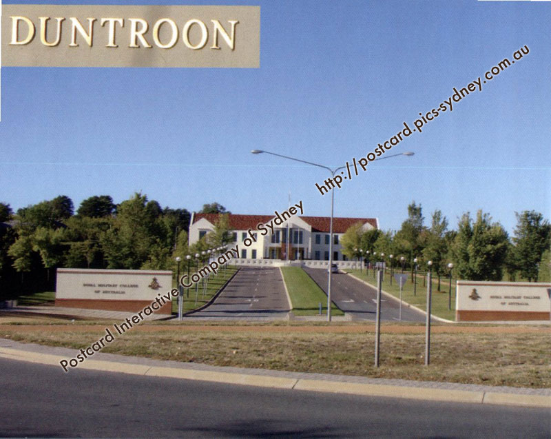 Duntroon, Royal Military College, Canberra
