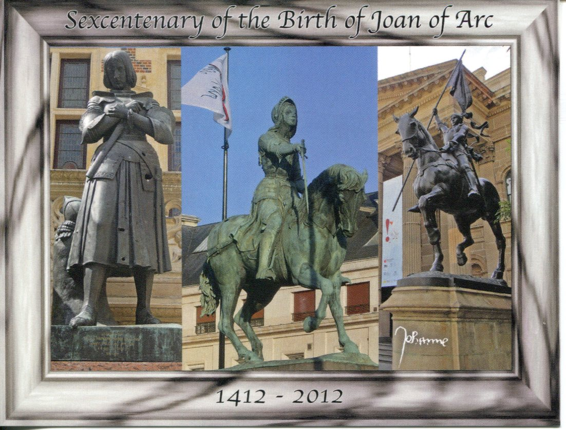 Centenary (6th) of the Birth of Joan of Arc
